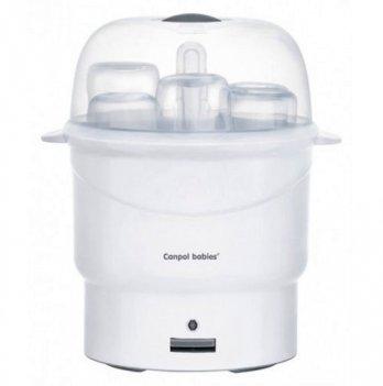 Стерилизатор для бутылочек Canpol babies электрический, паровой